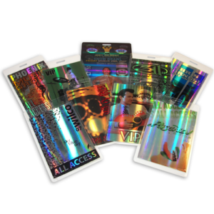 Custom Holographic Laminate Passes