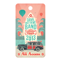 Dave Matthews Summer Tour DT Illustration Design
