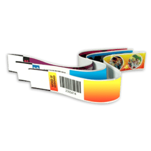 Full Color Adhesive Wristbands