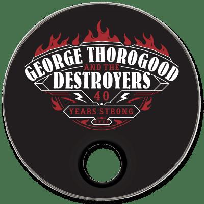 George Thorogood Custom Drumhead