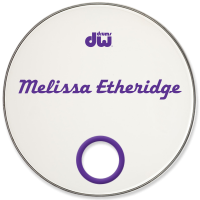 Melissa Etheridge Custom Drumhead