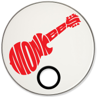 Monkees Custom Drumhead